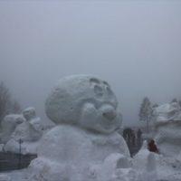 第15回たかす雪まつり 雨が降ってツライ・・ 郡上市
