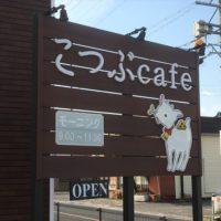 岐阜市 こつぶcafe おしゃれでカワイイお店に子ヤギさん!