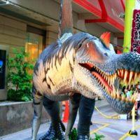柳ケ瀬ジュラシックアーケード2019 今年も大迫力の恐竜が商店街にやってきた!