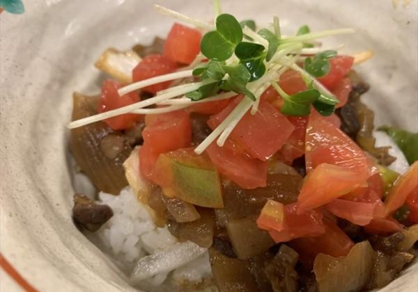 下呂温泉 グルメ 菅田庵のトマト丼