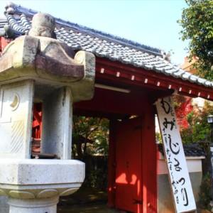 三輪山真長寺の紅葉