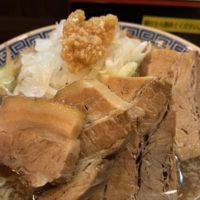 ラーメン ガジロー岐阜北方店 ひとまずがっつり肉食べたい!