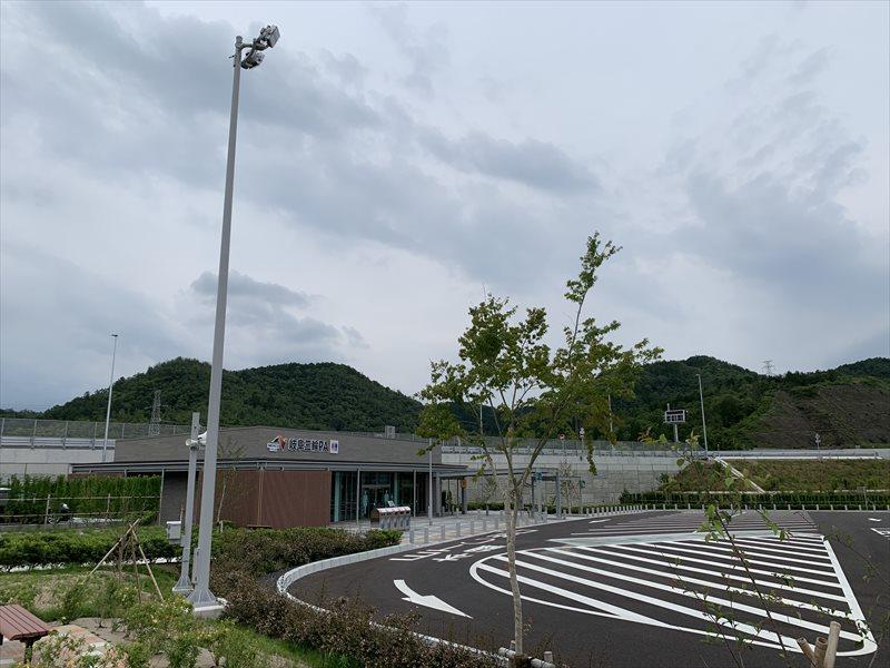 岐阜三輪PA 東海環状自動車道