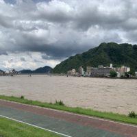 今年も川の増水で氾濫か!岐阜県またも雨の被害。