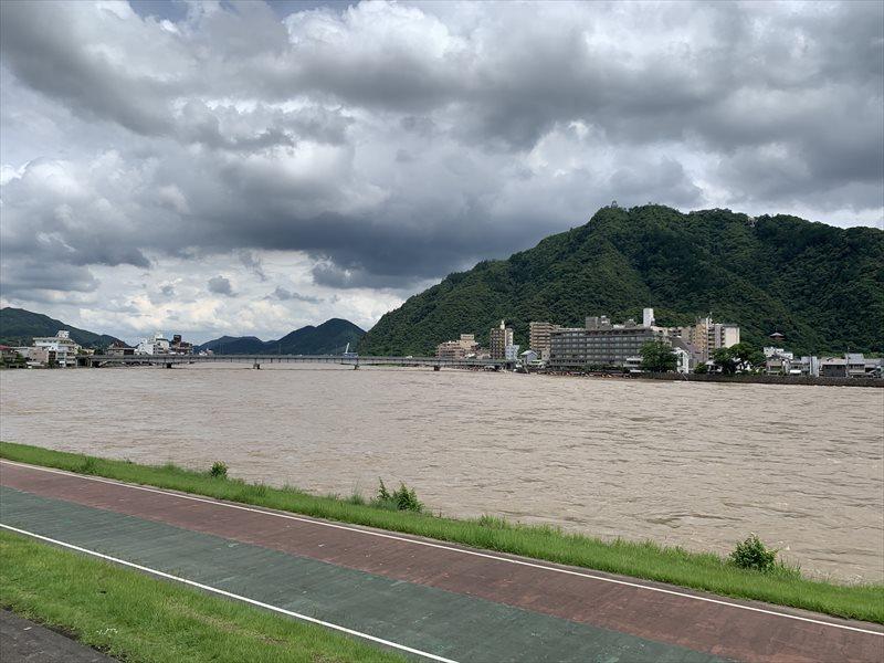 長良川 増水 2020年
