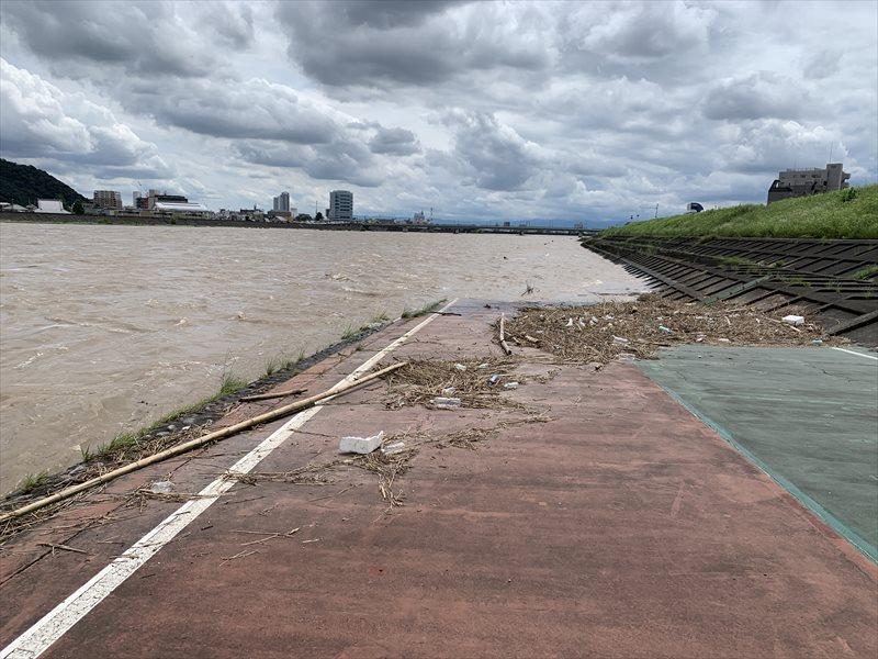 長良川 増水 2020年7月