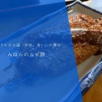 【ふくろう商店街】岩村町の西町商店街「みはら」の五平餅を食べる!